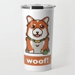 Cute Pembroke Cardigan Welsh Corgi Pet Dog Lover Travel Mug