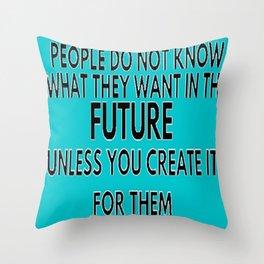Future- Bruni Throw Pillow