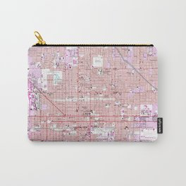 Vintage Map of Phoenix Arizona (1952) 2 Carry-All Pouch
