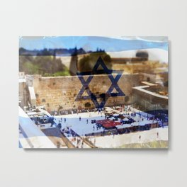 Zion will always be in my Heart Metal Print