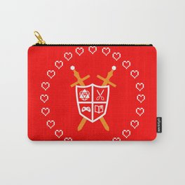 Crest of Nerdom Carry-All Pouch