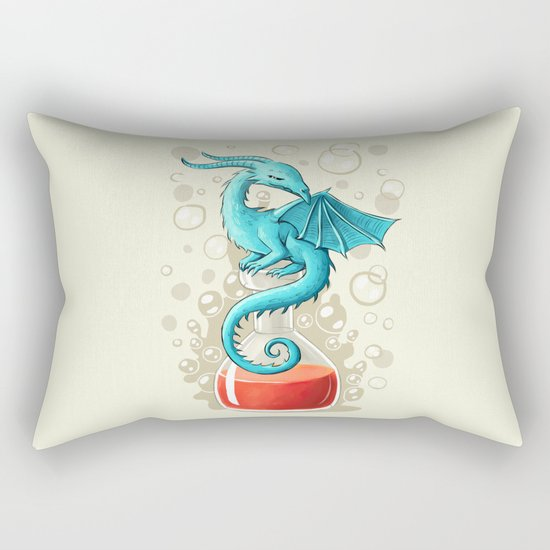 Dragon Potion Rectangular Pillow