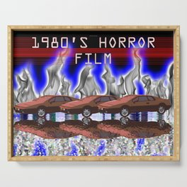 1980's Horror Film Serving Tray