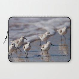 Small Beach Birds | Wildlife Photography Laptop Sleeve