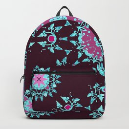 red berry pattern Backpack