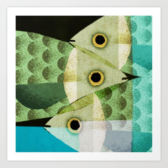 Fish Boxed Art Print