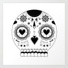 LOVE BOLDLY Art Print