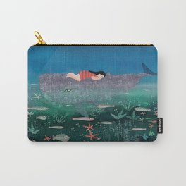 Dream With The Whale Carry-All Pouch