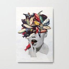 Ωmega-3 Metal Print