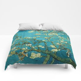 Vincent Van Gogh Blossoming Almond Tree Comforters