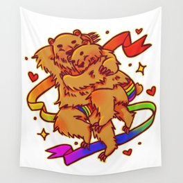 Fuzzy Love Wall Tapestry