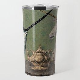 Narwhal & Unicorn Have Tea Travel Mug