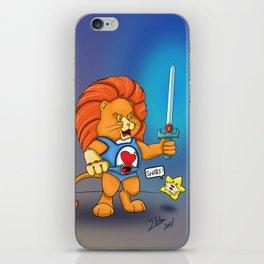 Braveheart Lion O iPhone Skin