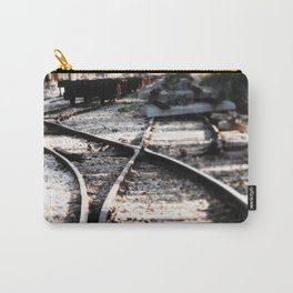 Abandoned Rail Tracks Carry-All Pouch