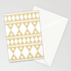 Golden Lace Stationery Cards