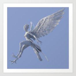 Syrenox - the Siren Art Print