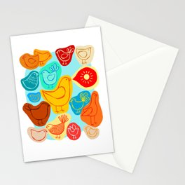 Dawn Chorus Stationery Cards