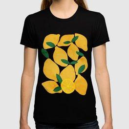 lemon mediterranean still life T-shirt
