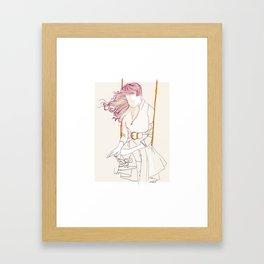 Balancelle Framed Art Print