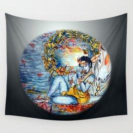 Krishna  Wall Tapestry