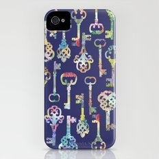 Rainbow Keys Slim Case iPhone (4, 4s)