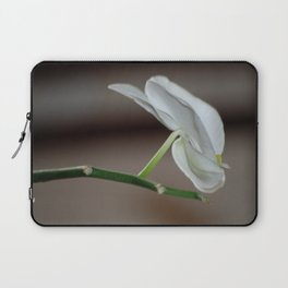 White Orchids Laptop Sleeve