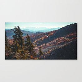 Lynn Cove Viaduct - Blue Ridge Parkway Canvas Print