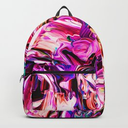 Colorful Abstract Liquid Paint IV Backpack