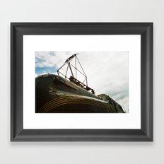 Rusting in Peace Framed Art Print