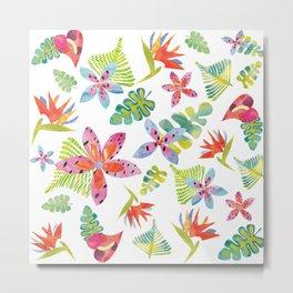Tropicolors Metal Print