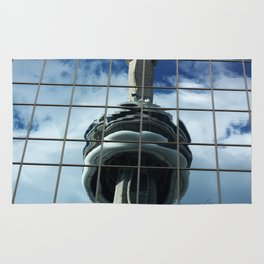 CN Tower Reflection Rug