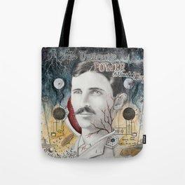 Tesla, Unlimited Power Tote Bag