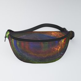 Concept abstract : The way of colours Fanny Pack