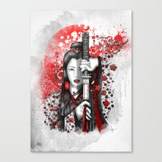 Katsumi - victorious beauty Canvas Print