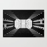 tron Canvas Prints featuring Tron by Clay Taylor