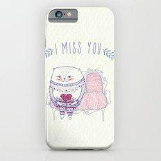 waiting cat iPhone 6s Slim Case