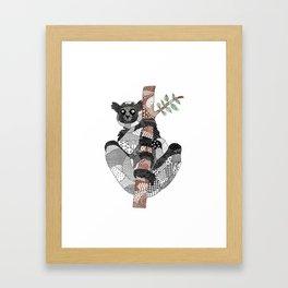 Indri Framed Art Print