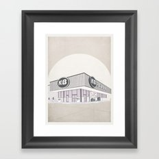 I Assure You, We're Open (clerks) Framed Art Print