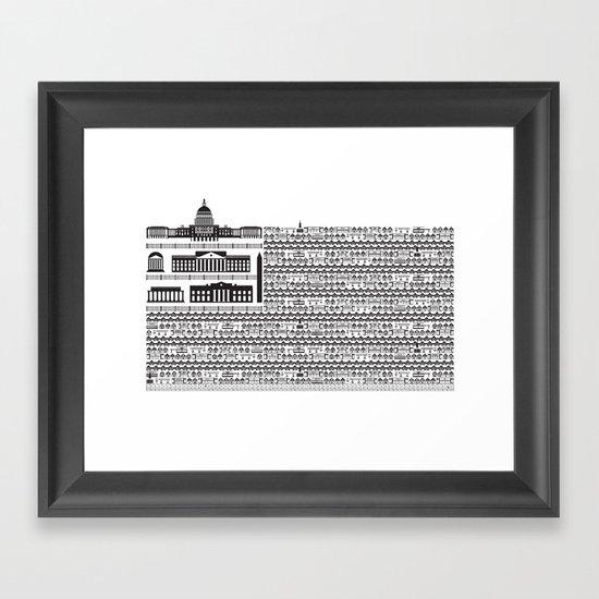 #1? Framed Art Print