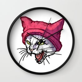 The Cat in the Hat (White) Wall Clock