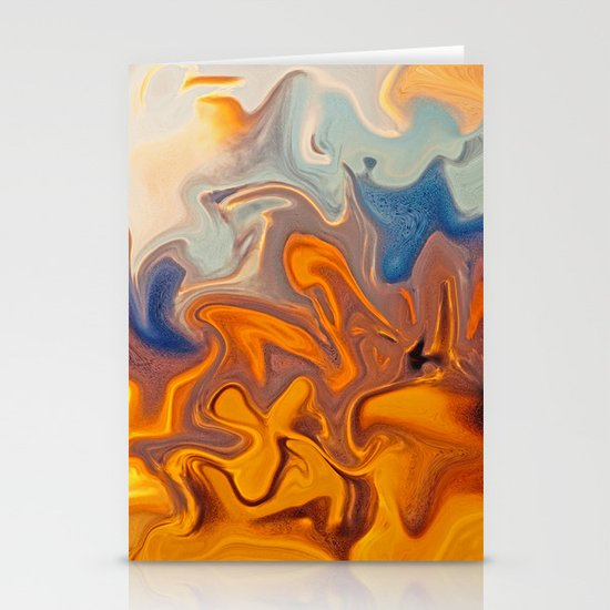 SKY ON FIRE Stationery Cards