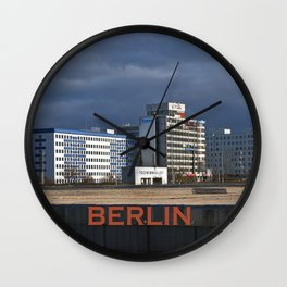 Autumnal afternoon lighting in Berlin Wall Clock