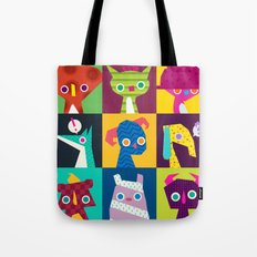 Thumbnail Monsters Tote Bag