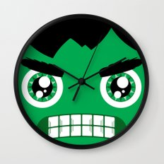 Adorable Hulk Wall Clock