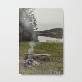 Barbacue Metal Print