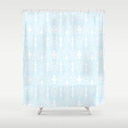 Greco Cameo Lolita in Powder Blue Shower Curtain