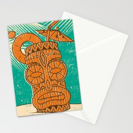 Tiki Cocktail Stationery Cards