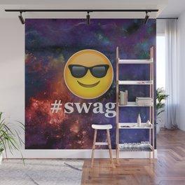 #Swag Wall Mural
