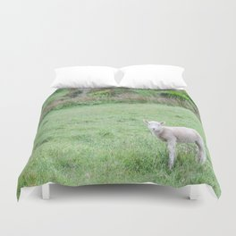 'Sup - Lamb in New Zealand Duvet Cover