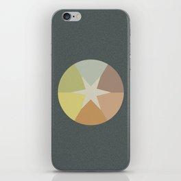 Off-Aligned Babbitt Star iPhone Skin
